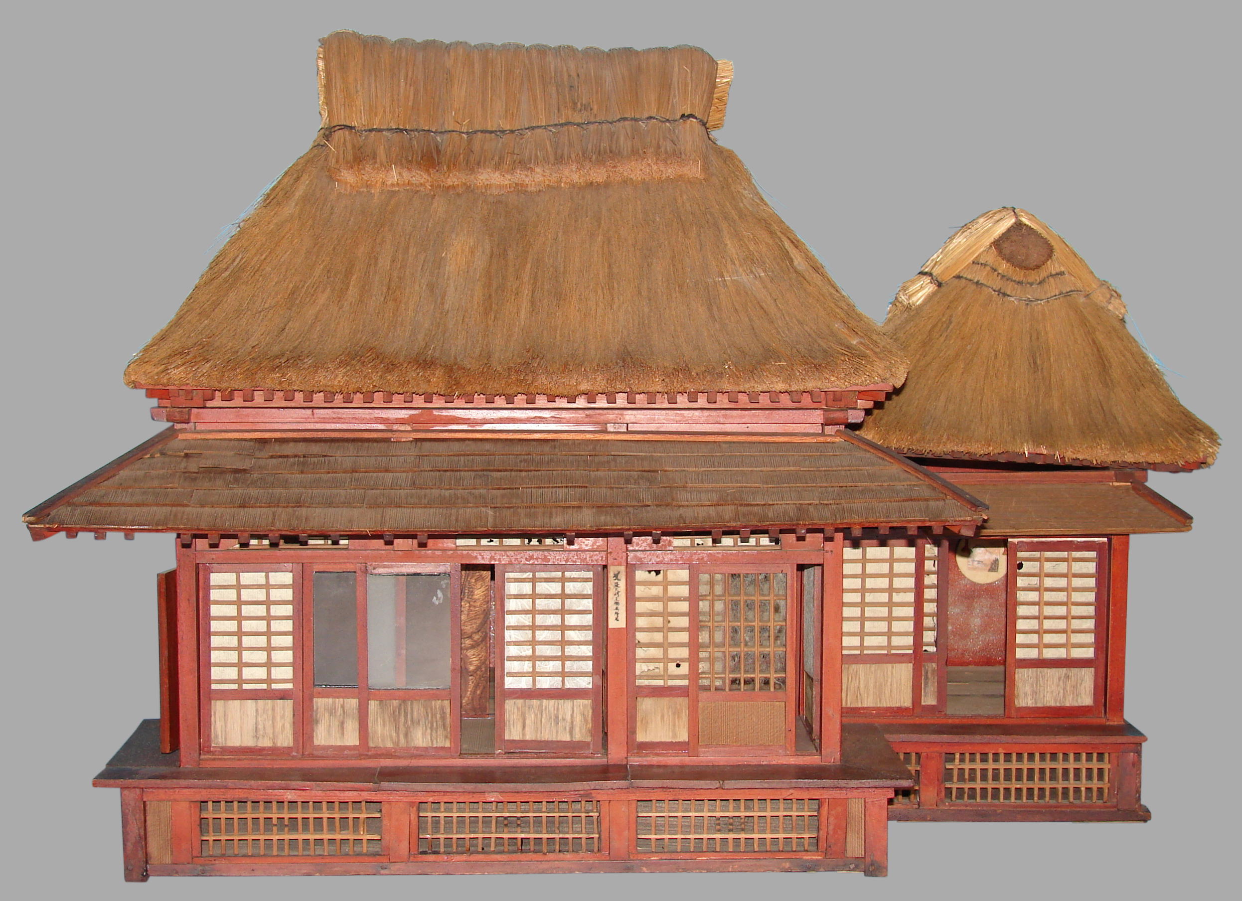 Japanese Tea House, Scale Model | DANIEL STEIN Antiques San Francisco CA