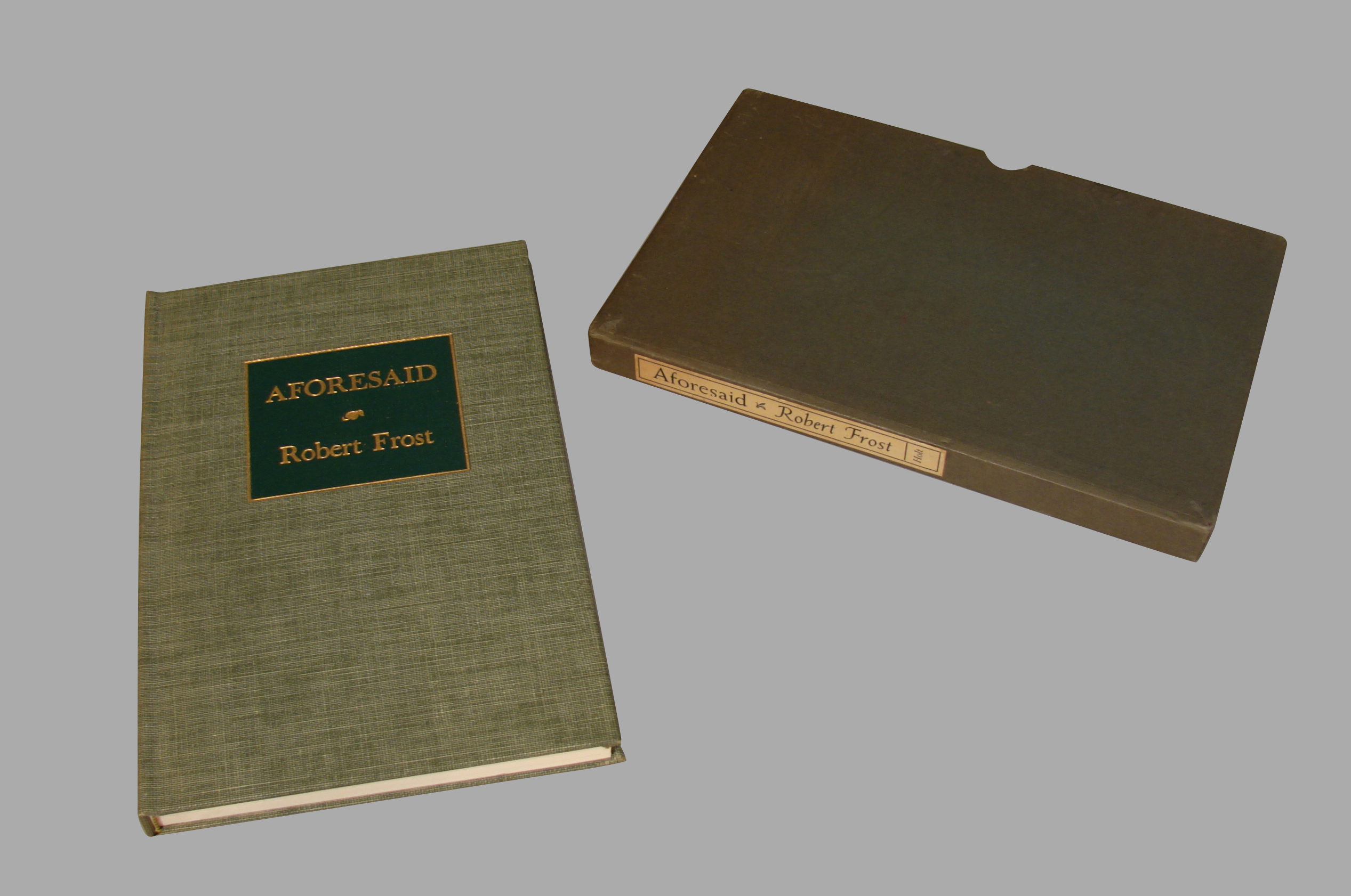 First Edition: Signed Robert Frost | DANIEL STEIN Antiques San Francisco CA