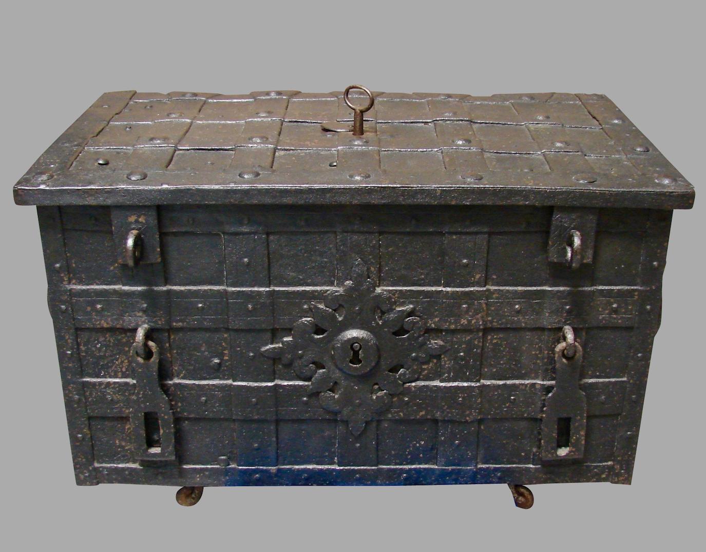 Early 18th Century Nuremberg Strong Box | DANIEL STEIN Antiques San Francisco CA