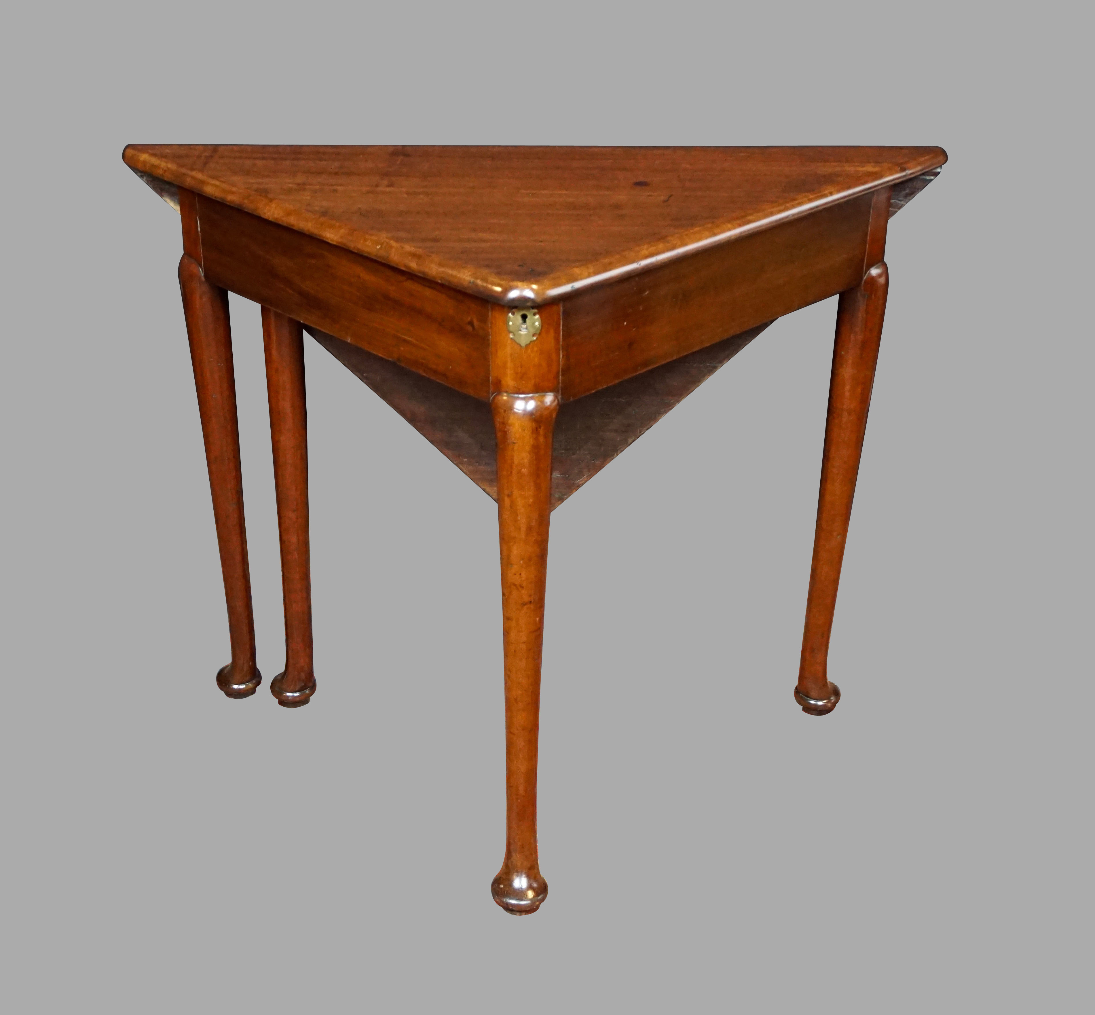 George II  Corner Envelope Table | DANIEL STEIN Antiques San Francisco CA