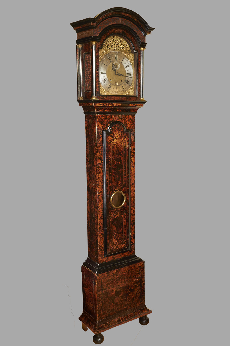 Dutch Tall-Cased Clock by William Gib, Rotterdam, | DANIEL STEIN Antiques San Francisco CA